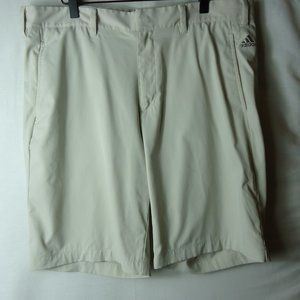 Adidas Light Khaki Golf Shorts Size 36